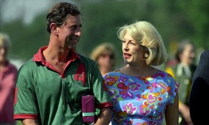 Dale Tryon (nee Harper) with Prince Charles