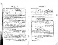 Samuel Bown – Ellen Milbourne Marriage 1899